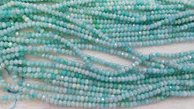 Amazonite gemstone crystal lapis sunstone labaradorite aquamarine beryl ruby beads rondelle abacus faceted necklace loose beads