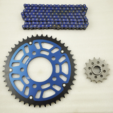 Motorcycle Complete Sets 525 O-Ring Chain Front & Rear Sprocket Kits For HONDA CB400 CB500 CB 1 NC31(China)