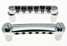 Chrome Electric Guitar Tune-o-matic Bridge and Tailpiece for Epiphone LP Les Paul