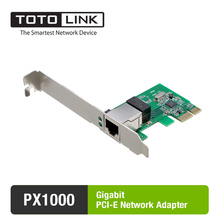 PX1000 Gigabit PCI-E Ethernet Network Card, Fast Speed 1000Mbps(China)