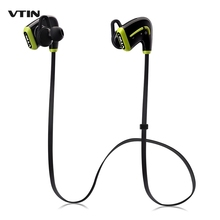 VTIN Lightweight HIFI Wireless Bluetooth 4.0 Sports Sweat-proof Earbuds Headphones Headset with Mic for iPhone iPad Samsung