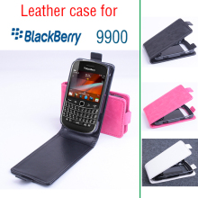 For Blackberry 9900 Case, New High Quality Genuine Filp Leather Cover Case For Blackberry9900 Case Free Shipping(China)