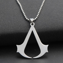 Buy Samyeung Game Assassins Creed Link Chain Necklaces Men Stainless Steel Friendship Necklaces Women Neckless Male Jewelry for $1.10 in AliExpress store