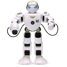 EBOYU(TM) LE NENG TOYS K1 Intelligent Programmable Humaniod 2.4G Remote Control Robot with Shoot Music Dance Arm-swing Function