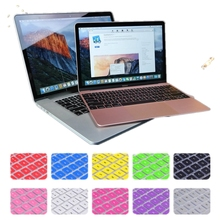Multiple Colour French EU Keyboard Cover For Apple Macbook Air 11'' 11.6'' Waterproof Protective Skin Film(China)