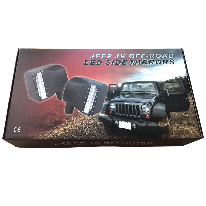 Free shipping For Wrangler JK LED Off-Road Mirror ,mirror for 2007-2015 Jeeep Wrangle JK<br><br>Aliexpress
