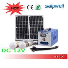 2014 NEW Popular Solar Energy System Customized 12V Output Mini Solar Power System for Home Use Saipwell