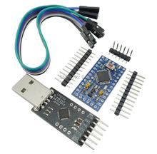 CP2102 Module + Pro Mini Module Atmega328 3.3V 8M For Arduino Compatible With Nano