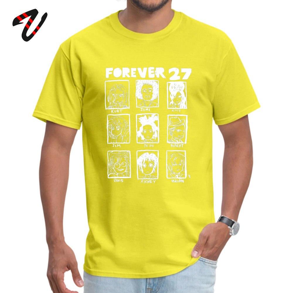 ForeverClub Geek Short Sleeve Tops Tees Autumn Round Neck All Cotton Men T Shirt Geek Clothing Shirt Oversized Forever 27 Club 736 yellow
