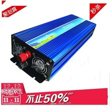DHL Or Fedex free shipping 5000W Pure Sine Wave Inverter 10000w peak 12V to 220v For Wind and solar energy High Qualit