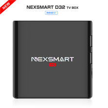 Best NEXSMART D32 RK3299 Quad-core A7 android 5.1 tv box 1G/8G 2.4G WIFI HDMI 2.0 4K h.265  Media Player support DLNA miracast