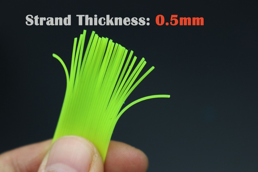 150 CM 3 Assorted Colors 0.5MM DIY Round Cylinder Silicone Skirt DIY Fly Tying Material Squid rubber thread<br><br>Aliexpress