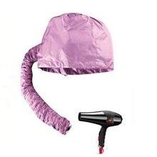 Home Barbershop Hair Dryer Bonnet Caps Soft Hood Attachment Haircare Women Salon Hairdressing Hat Perm Helmet Hair Steamer(China)