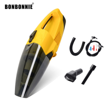 BONBONNIE 12V Portable Car Vacuum Cleaner Inflation Dual Use Super Suction 5M 120W Vaccum Cleaner Cigarette lighter(China)