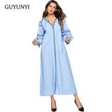 GUYUNYI Women s Dress Geometric Pattern Embroidery Small Sexy V-neck Tassel  Bat nine-point Sleeve Casual Comfort Dress CX1131 bfd36429e150