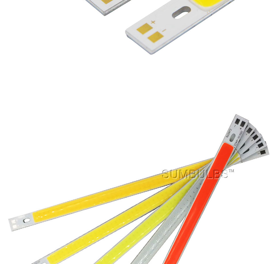 20cm 10W 12V cob led strip bar lights 1000LM car lamp bulb (4)