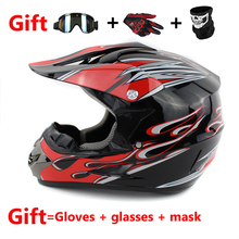 Free Shipping motorcycle helmet off road helmet motocross atv dirt bike cross helmet motocross also suitable for kids helmets(China)