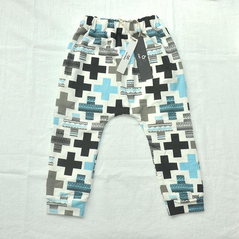 Clearance 11.11 Sale Boys Pants Print Cotton Trousers Girls Leggings Children Clothes
