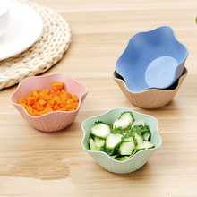 Simple Snacks Salad Bowls Fruit Disc Kitchen Utensils Snacks Desserts Bowls Ice Cream Bowls Tableware Storage Boxes