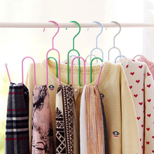 Multifunctional S-shaped Shoe Clothes Drying Rack Outdoor Clothes Hanger Scarf Silk Tie Belt Hanger Frame Storage Rack ZM(China)