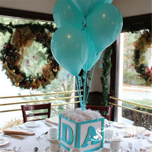 Wedding Decoration Balloons Tiffany Blue Latex 10 Pcs 10 inch Air Balls Happy Birthday Party Helium Inflatable Ballons Kids 2.2g(China)