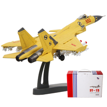 Brand New 1/100 Scale Fighter Model China J-15/Flying Shark/Flanker-D Carrier-based Aircraft Diecast Metal Plane Model Toy