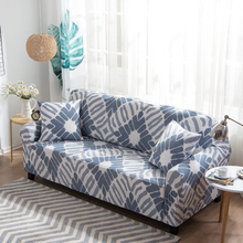 Universal Sofa Covers For Living Room Polyester Spandex Fabric Elastic Multi-size Couch Cover Corner Sofa Slipcovers(China)