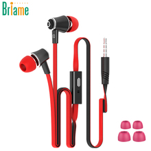 JM21 In-Ear Earphone Hifi Headphone Sport Colorful Earbuds Super Bass High Quality Headset with Microphone for iPhone Samsung(China)