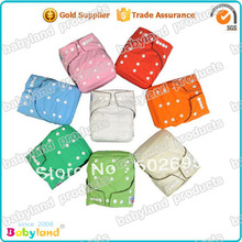 Free Shipping (20 pcs/lot ) Economic Natural Bamboo Fabric  PUL Baby Reusable Cloth Nappy