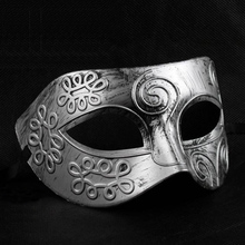 Golden/silver Roman gladiator man's Venetian carnival mask Mardi Gras Mask Party Mask