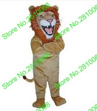 QIANYIDUOO Can be washed with water EVA Material Helmet High quality Lion king lion Mascot Costumes cartoon Apparel 384