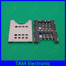 For Sony ST18i ST26i MT27i Sim Slot Tray MK16i MT27 ST26 MK16 ST23 Sim Card Slot Connector 2X