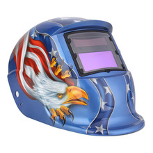 Electric Welding Mask/Helmet/Welding Solar Automatic Darkening Helm Welder Mask TIG MIG MMA For Welding Machine OR Cutter(China)