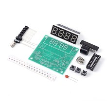 Analog Computer Program Control Bell DIY Kit 48Bit Adjustable Electronic Digital Display Alarm Clock 48 Channels Circuit(China)