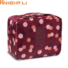 New Man Women Makeup bag Cosmetic bag beauty Case Make Up Organizer Toiletry bag kits Storage Travel Wash pouch(China)