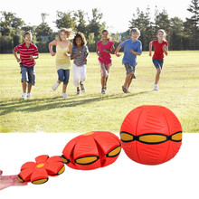 UFO Deformation Ball Soccer Magic Flying Football Flat Throw Ball Toy Game Toys 30