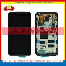 "5.2"" For Motorola Moto X+1 X2 XT1092 XT1095 XT1096 XT1097 Full Lcd Display Touch Screen Digitizer Assembly Complete With Frame"