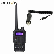 Retevis RT5 Walkie Talkie+Car Charge Cable 8W(High/Medium/Low) Portable Amateur Two Way Radio Dual Band Transceiver