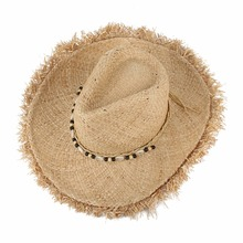 Vintage Raffia Straw Hats Floppy Wide Large Sun Hat Fashion Fringe Shells Beads Beach Hats Panama Summer Hat For Women(China)
