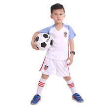 Kids Short-sleeved football sports suit,Summer boys training Team competition clothes,children's clothing sets soccer clothes