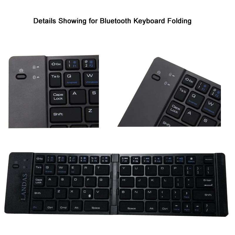 4 Wireless Folding Keyboard