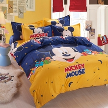 space mickey boys/girls bedding set duvet cover bed sheet pillow case/queen/full/twin size,boutique bed linen for kids