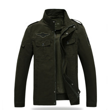 Army green wind jacket male jacket spring and autumn men's fashion jacket men's clothing wholesale and retail A005(China)