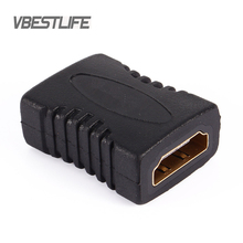 VBESTLIFE HDMI Coupler F/F female To HDMI female Extender Adapter Converter Connector for HDTV HDCP 1080P HDMI Audio Cable