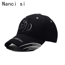 2017 Black Cap San Diego New York Baseball Cap Snapback Caps Casquette Hats Fitted Casual Gorras Hats For Men Women Unisex(China)