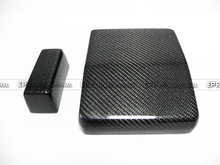 For Mitsubishi Evolution EVO 10 Carbon Fiber Fuse Box Cover Glossy Fibre Finish Engine Accessories Racing Trim Car-Styling(Hong Kong)