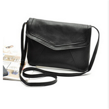 Hot Sale Fashion Vintage Sholder Bags Leather Women Handbags Envelope Clutches Purse Crossbody r Messenger Bags(China)