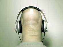 FINGERHEAD Nail Headphones Cool Art Huge Print Poster TXHOME D2975