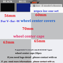 20pcs 56mm 60mm 63mm  65mm 70mm Auto Wheel center hub Logo Caps Wheel  Accessories Car Wheel Rim Emblems Covers