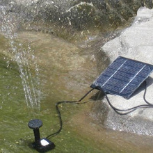 High Quality Solar Power Fountain Pool Water Pump Garden Plants Watering Kit